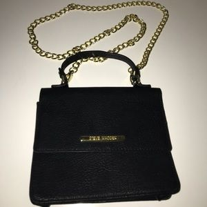 Steve Madden purse with long shoulder chain